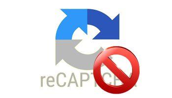 Скрываем значок reCAPTCHA v3 от Google не нарушая условия использования